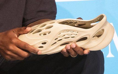 Kanye West reveals environmentally friendly sneakers made of algae