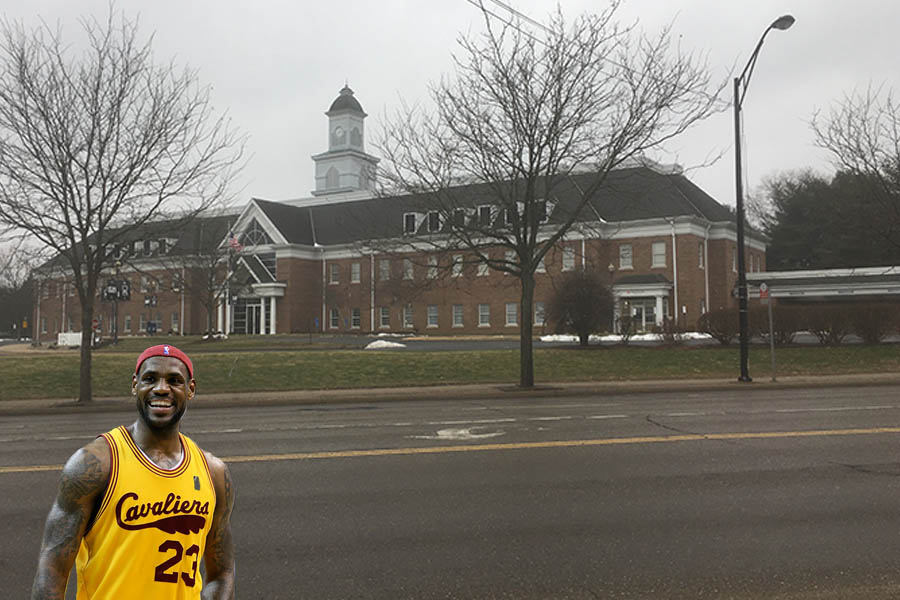 The I promise school that Lebron James funded in Akron Ohio.