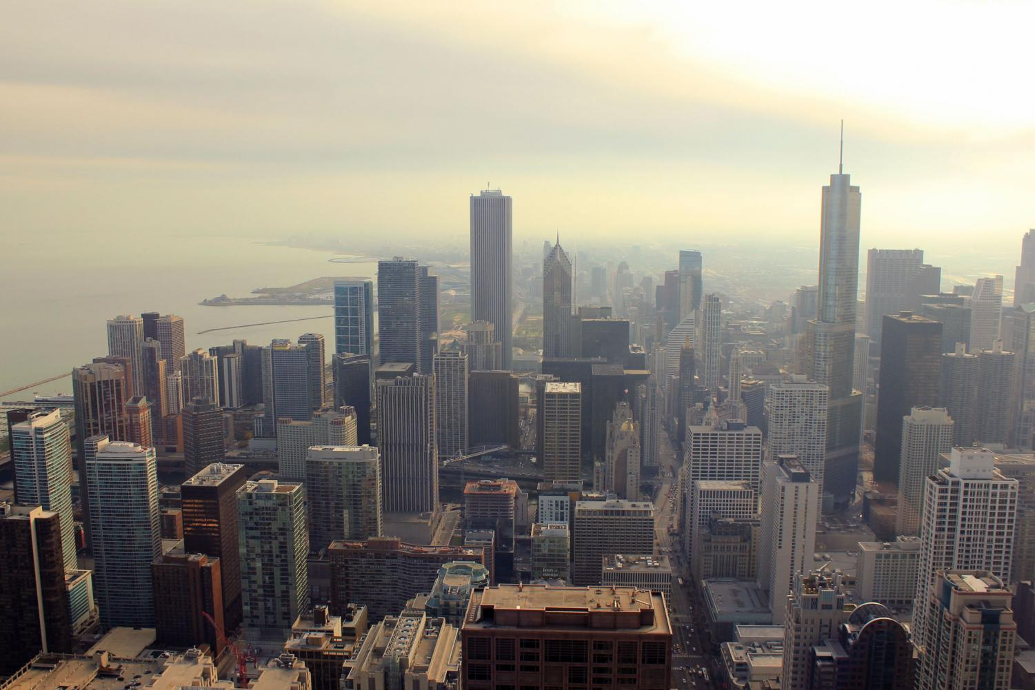 The Chicago city skyline is one you won't soon forget!