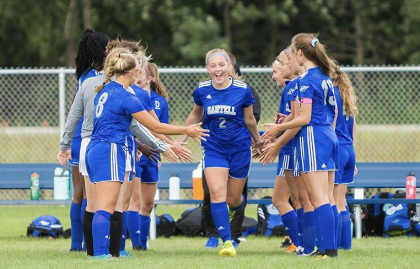 Reese plays for the Sartell High School girls soccer team and has gotten many awards