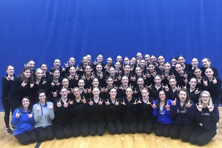The+Sartell+Dance+Team+has+won+the+championship+for+class+2A+for+the+last+three+years
