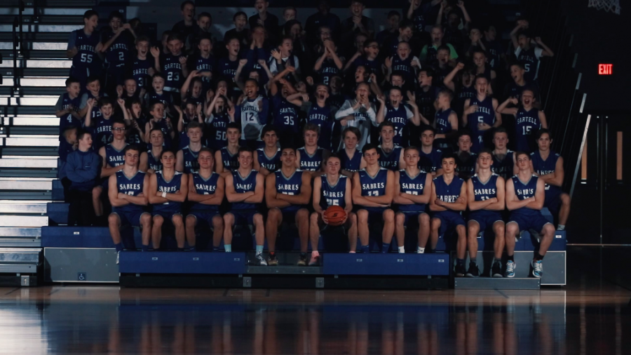 Varsity+Boys+Basketball+for+the+2019-2020+season+hype+video.+