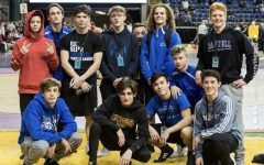 Sartell Varsity wrestling team for the year 2019-2020 school year
