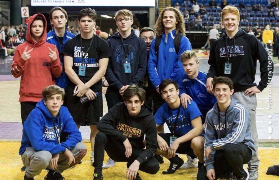 Sartell+Varsity+wrestling+team+for+the+year+2019-2020+school+year