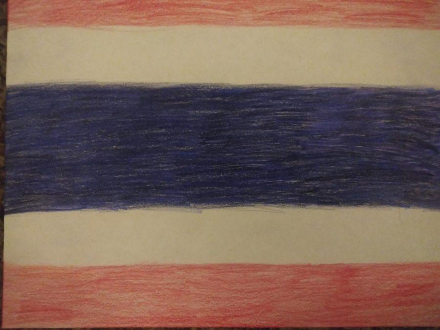 Original+Artwork+of+Thailand+Flag+by+Madison+Franzmeier