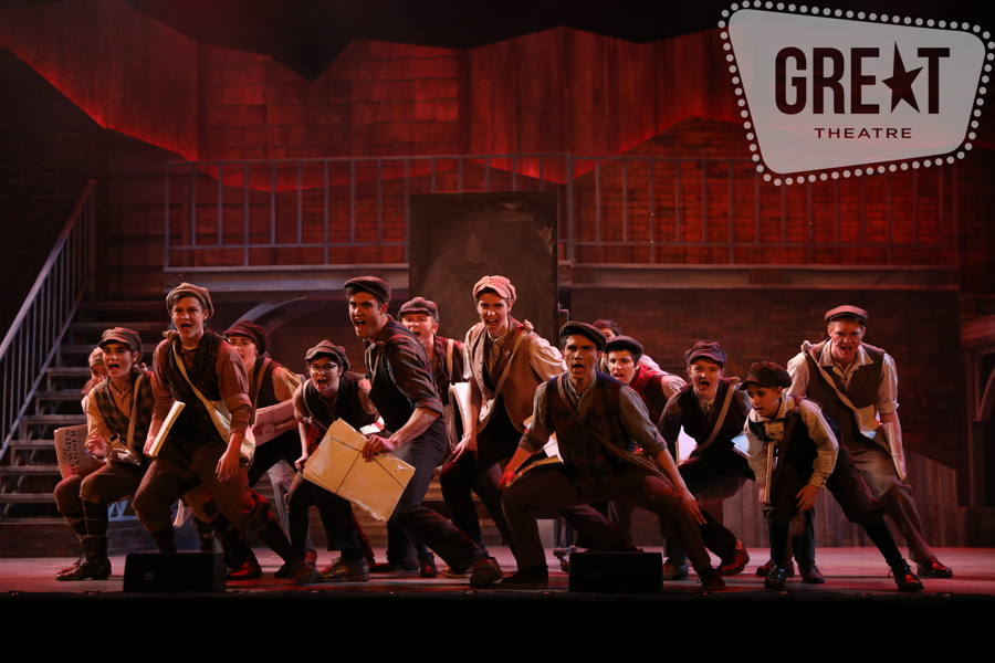 Newsies+put+their+plan+in+action+with+this+intense+scene.
