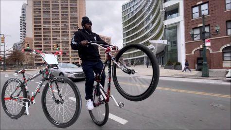 Dblocks on bike