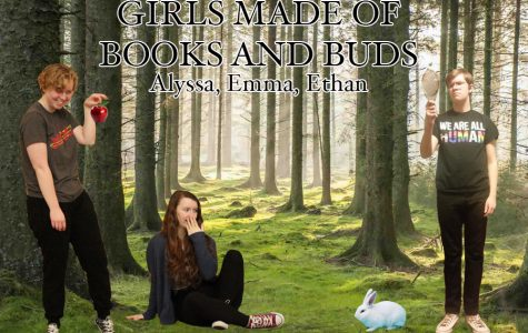 Girls made of Books and Buds