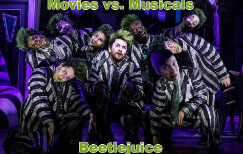 Beetlejuice the musical is better than the movie because the plot is thicker and you actually see Beetlejuice more!