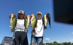 Largemouth Bass caught by Nick Greer and Peyton Henkensiefken