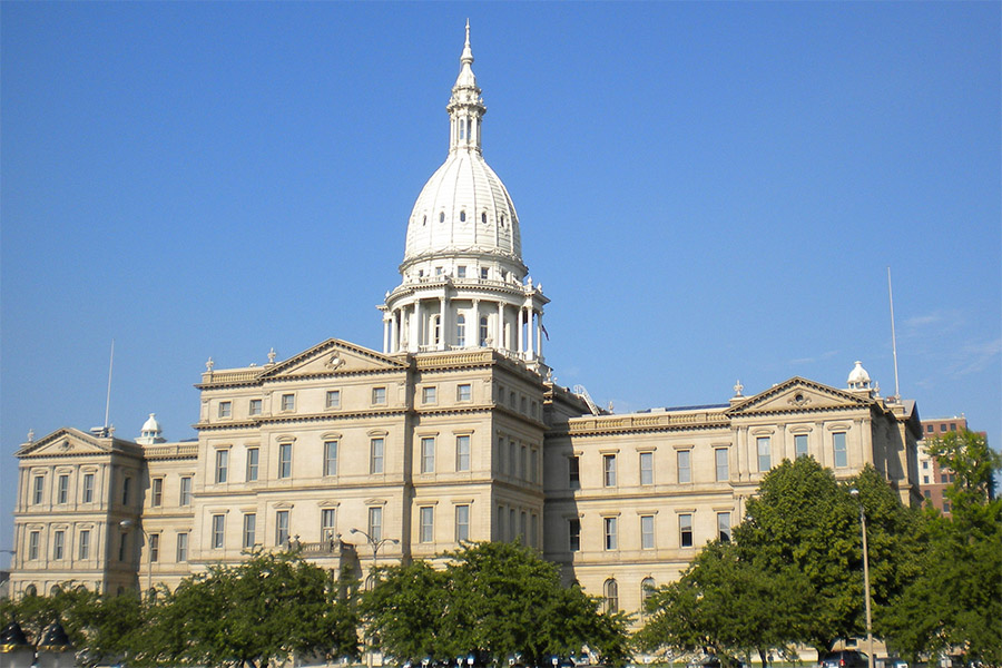 The Michigan governor has issued a much stricter stay at home order.