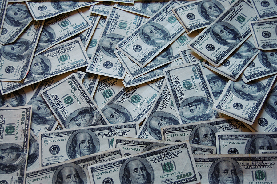 The United States government is sending money to people in order to stimulate the economy.