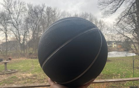I forgot to take pictures of me and my siblings when we were at the park so here's the basketball we played with.