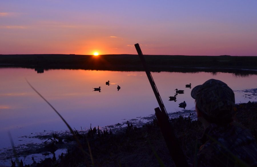 Duck+hunting+season+is+upon+us+and+we+are+pumped+to+be+out+on+the+lake.++