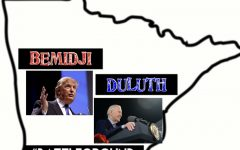 Trump visits Duluth while Biden goes to Bemidji to give their campaign speeches in order to win over