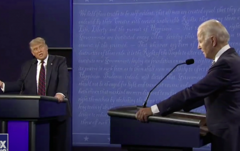 Trump and Biden squared off at the first presidential debate this last week.