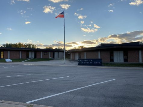 A look on the elementary school that can't be used right now due to COVID.