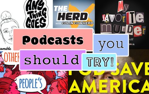 A list of popular podcasts and all from different genres.