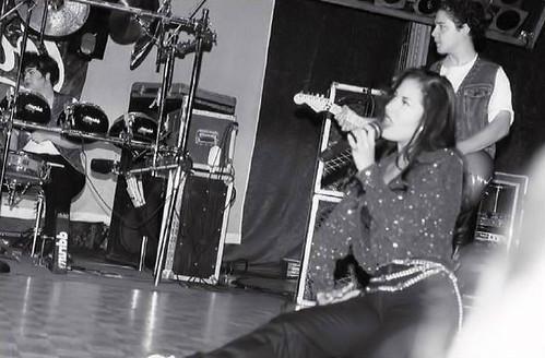 Selena Quintanill doing what she loves.