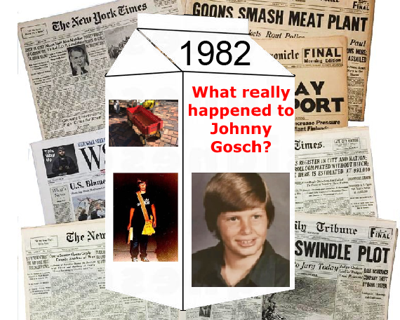 Johnny Gosch was a 12 year old boy abducted on his paper route and his case went cold.
