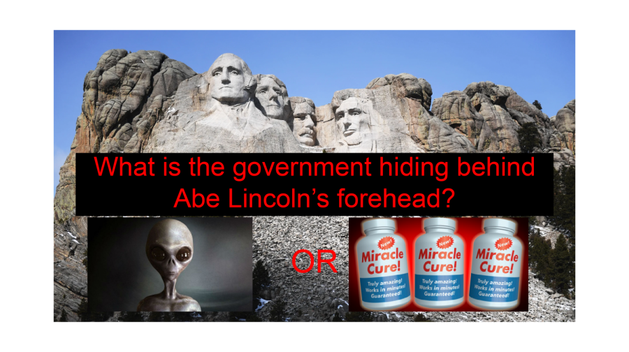 The government has many secrets. Is the contents of the chamber at Mount Rushmore one of them?