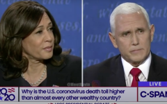 Harris and Pence had a heated debate this past week.