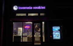 This gives the reader a visual of what Insomnia Cookies looks like.