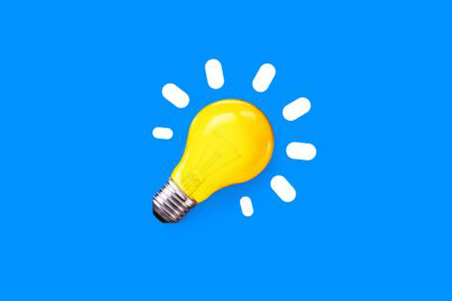 This is the lightbulb image that 5-Minute Crafts uses for their social media accounts.