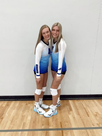 Picture day for Sartell volleyball.