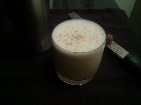Eggnog has a weird history but this article about it is definitely worth the read.