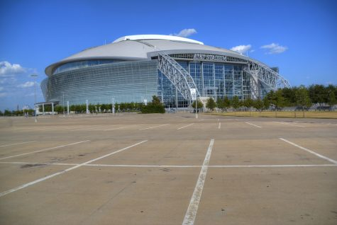 AT&T Stadium, home of the Dallas Cowboys, will be partially filled with fans on Thanksgiving day.