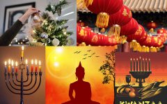 Some of the most celebrated holidays during the winter months.