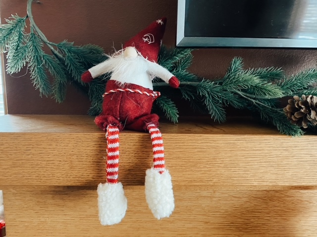 A gnome to give off more Christmas spirit.