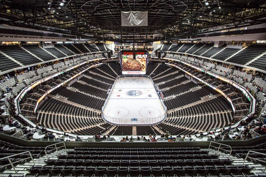 Rogers Place in Edmonton hosted this year's odd Stanley Cup Final situation.