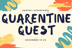 This activity was organized by a small group of students in the Sartell High School Student Council. The comittee, headed by Alice Colatrella hopes that the activity can bring entertainment to students as they move from hybrid to distance learning.