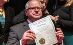 Minnesota's Governor Walz released an app that would help people find out if they were near someone with COVID.