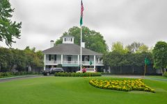 The clubhouse at Augusta National is one of the most famous in all of golf.