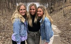Megan and two older sisters, Ali and Bre
