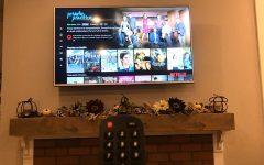 A perfect night of binge-watching Netflix TV series.