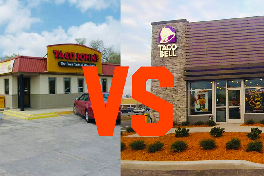 Taco+Johns+VS+Taco+Bell%2C+which+one+is+superior.