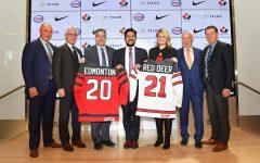 Edmonton, Alberta is where the 2020-2021 World Junior Hockey Tournament will be held.