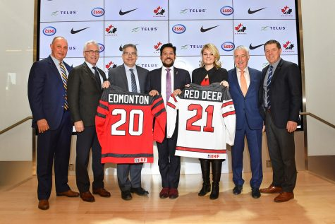 Edmonton, Alberta is where the 2020-2021 World Junior Hockey Tournament will be held.