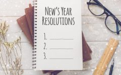 The new year is coming up and that's a good time to make your resolutions.