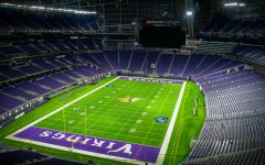 US Bank Stadium is the home field of the Minnesota Vikings.