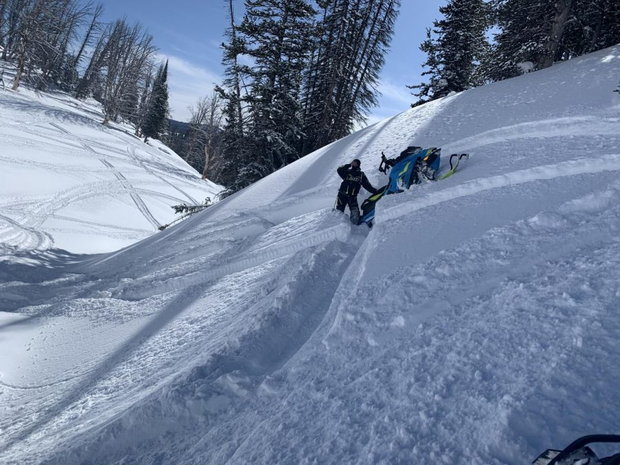 Friend from Wisconsin Stuck on the hill
