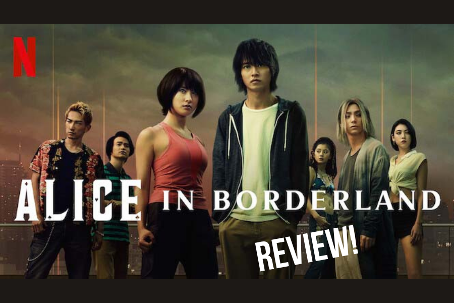 Alice in Borderland is a live action adaptation of a webtoon series based on a graphic novel series.