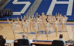 Sartell Sabre high kick team competes and takes 1st at CLC.