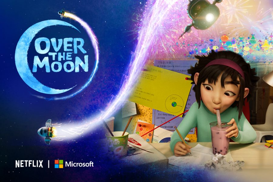 Over the Moon is a sweet animated film about a child understanding life a little more.