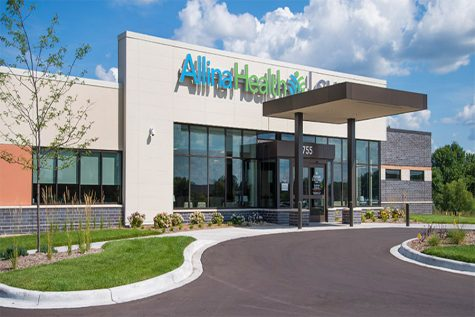 The Allina Health Clinic-Crossroads in Buffalo, Minnesota