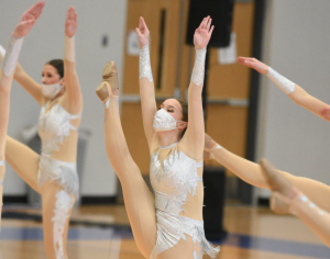 Sartell dancers show off their skill in their Jlo themed kick dance.